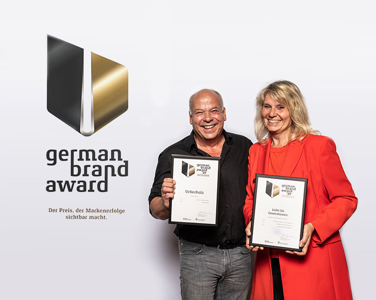 team uberholz beim germand brand award
